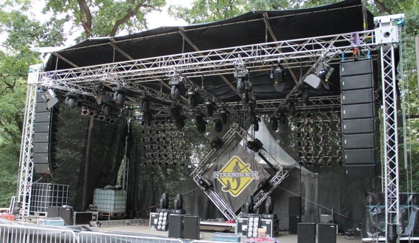 Tontechnik zum Nixenrock Festival
