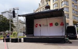 Mobil Stage kostengünstig mieten 6x4m