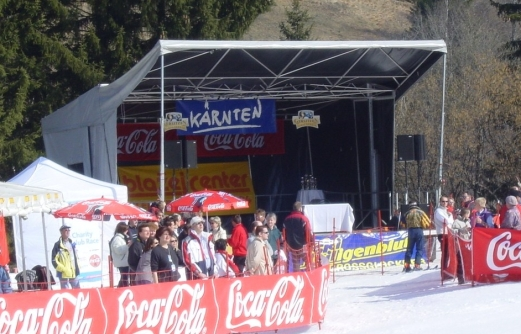 MobilStage 8x6 bei der Bühnenvermietung Österreich